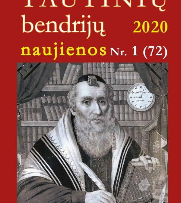 """Azerbaidžanietis M. Gamzajevas apie lietuvių literatūros klasiką V. Krėvę – įtaigiai ir įtikinamai (""""Tautinių bendrijų naujienos"""", Nr. 1 (72), 2020)"""