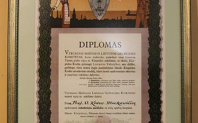 Sveikiname su Klaipėdos krašto diena! Pristatome naujus muziejaus eksponatus