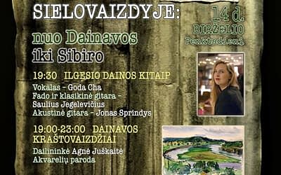 """KULTŪROS NAKTIS 2019 """"Kraštovaizdžio kontūrai sielovaizdyje: nuo Dainavos iki Sibiro"""" (nuotraukų galerija)"""