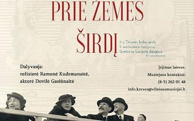"""R. Kudzmanaitės filmo """"Aš priglaudžiau prie žemės širdį"""" peržiūra ir susitikimas su filmo kūrėjomis 2019 12 17 (nuotraukų galerija)"""
